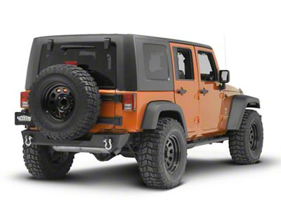 Rugged Ridge Spartan Rear Bumper (07-18 Jeep Wrangler JK)