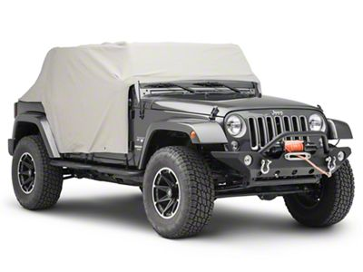 TruShield Cab Cover (07-18 Jeep Wrangler JK 4 Door)