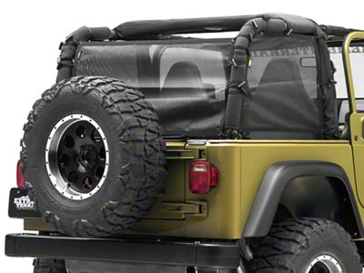 TruShield Extended Mesh Top Sides & Rear (97-06 Jeep Wrangler TJ)