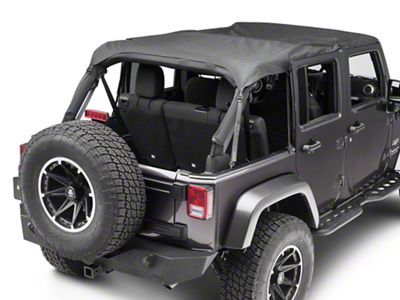 TruShield Extended Top (07-18 Jeep Wrangler JK 4 Door)