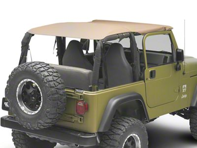 TruShield Extended Top - Denim Spice (97-06 Jeep Wrangler TJ)