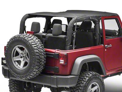 TruShield Full Mesh Top (07-18 Jeep Wrangler JK 2 Door)