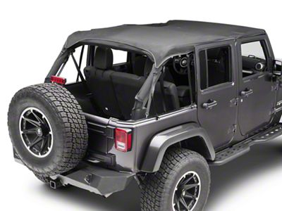 TruShield Full Mesh Top (07-18 Jeep Wrangler JK 4 Door)