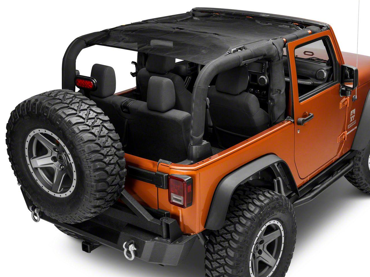 TruShield Summer Brief Mesh Top (07-18 Jeep Wrangler JK 2 Door)