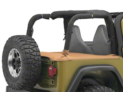 TruShield Tonneau Cover - Denim Spice (97-06 Jeep Wrangler TJ, Excluding Unlimited)