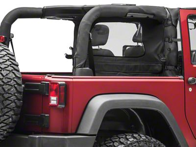TruShield Wind Breaker - Black Diamond (07-18 Jeep Wrangler JK 2 Door)