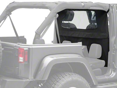 TruShield Wind Breaker - Black Diamond (07-18 Jeep Wrangler JK 4 Door)