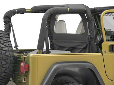 TruShield Wind Breaker - Black Diamond (87-06 Jeep Wrangler YJ & TJ)