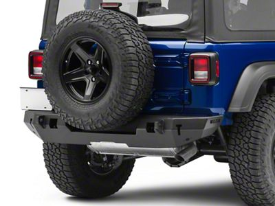 Westin WJ2 Rear Bumper - Textured Black (2018 Jeep Wrangler JL)