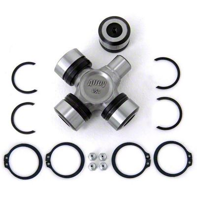 Alloy USA Heavy Duty X-joint Complete U-joint w/ Bearings (87-06 Jeep Wrangler YJ & TJ)