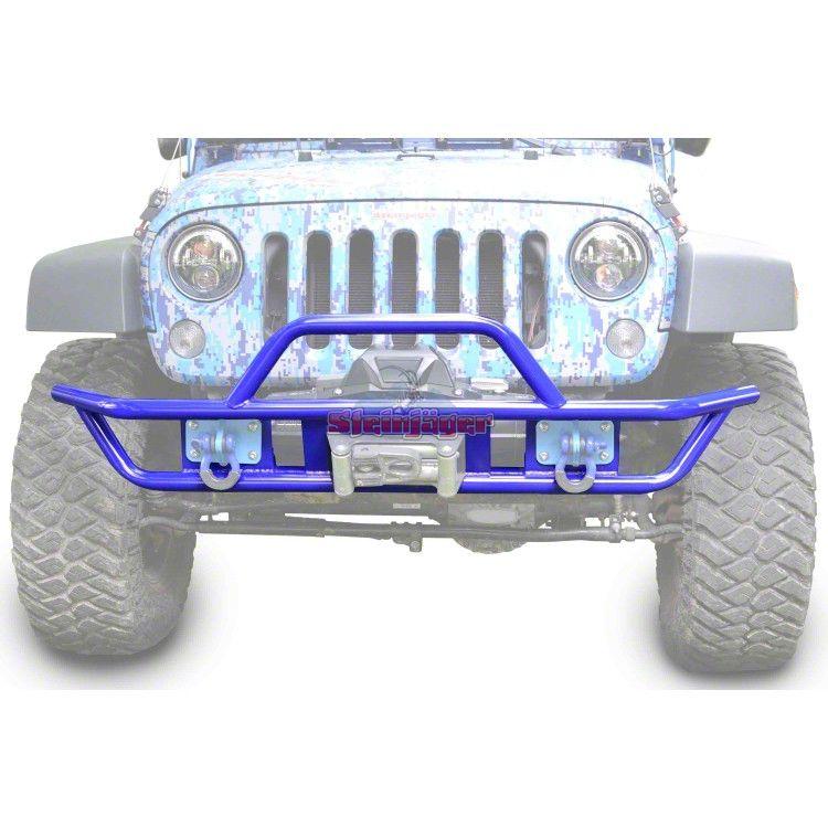 Steinjager Tube Front Bumper - Southwest Blue (07-18 Jeep Wrangler JK)