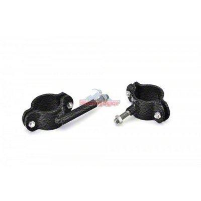 Steinjager High Lift Jack Roll Bar Mount Kit - Textured Black (87-95 Jeep Wrangler YJ)