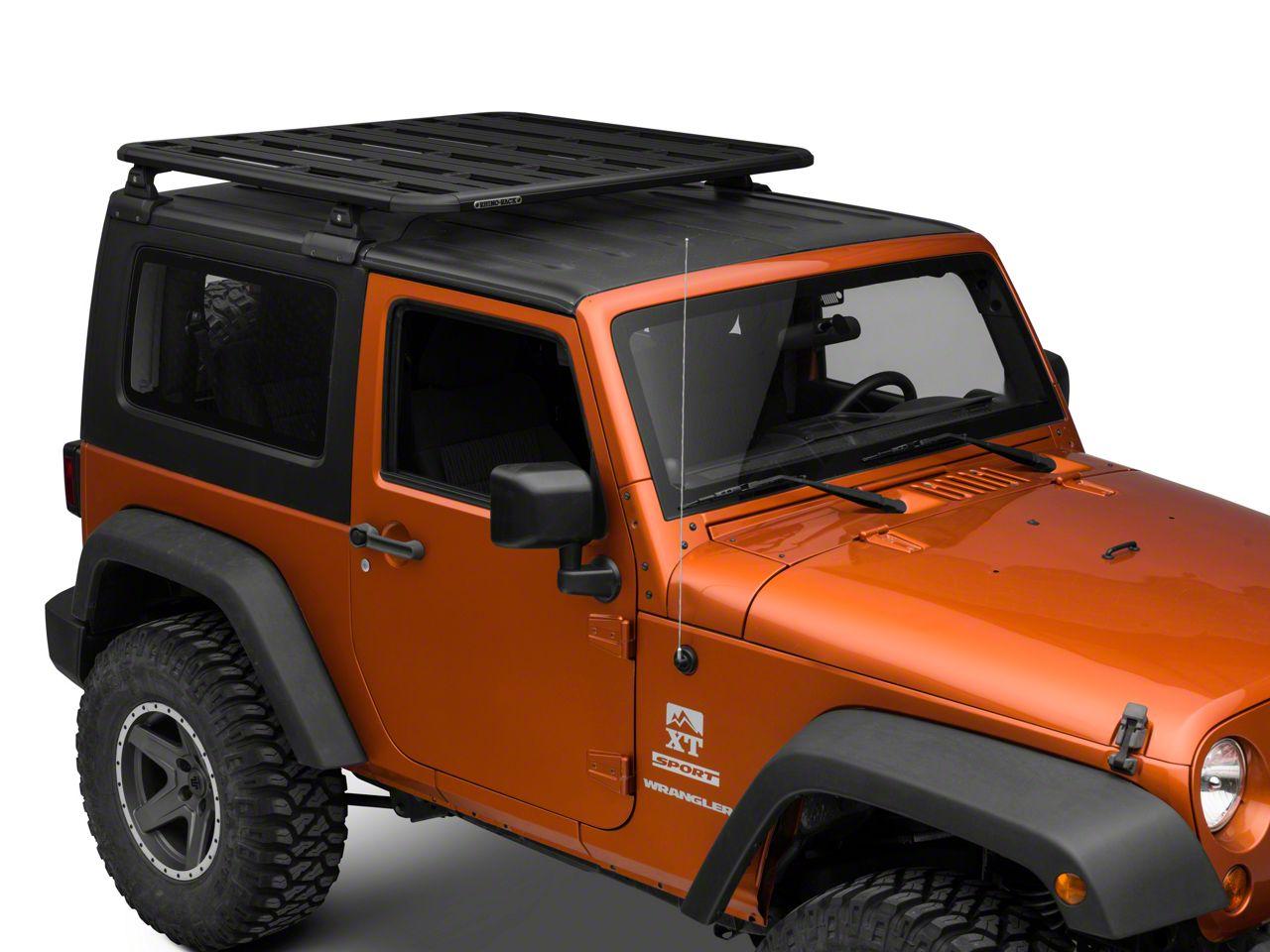 Rhino-Rack RLT600 Pioneer Platform (07-18 Jeep Wrangler JK 2 Door)