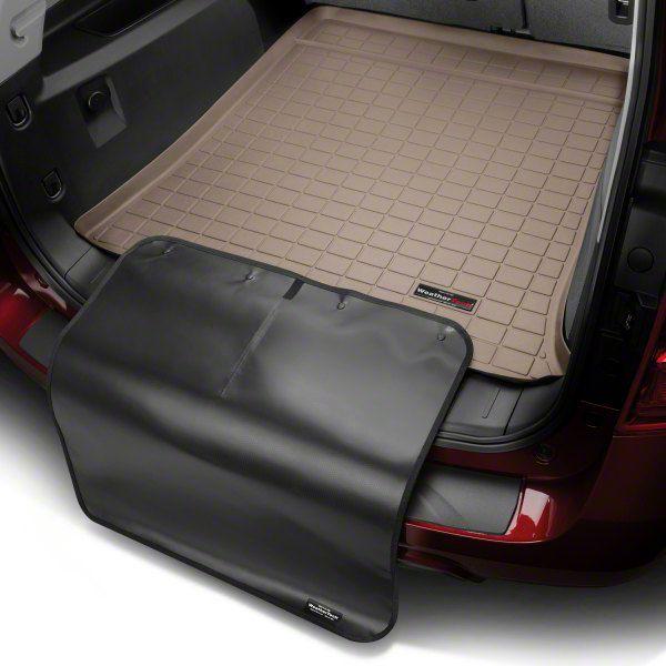 Weathertech DigitalFit Cargo Liner w/ Bumper Protector - Tan (15-18 Jeep Wrangler JK 2 Door)