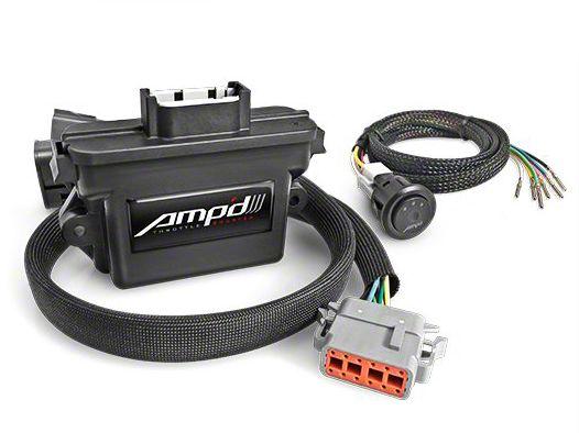 Amp'd Throttle Booster w/ Switch (07-18 Jeep Wrangler JK)