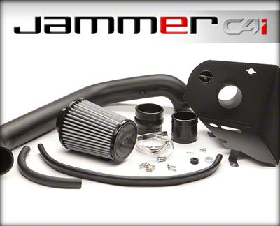 Edge Jammer Cold Air Intake (97-06 4.0L Jeep Wrangler TJ)