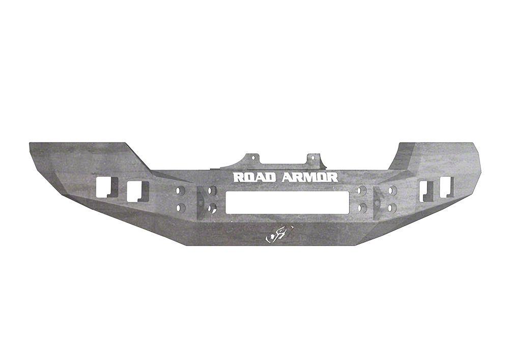 Road Armor Stealth Front Bumper - Raw (07-18 Wrangler JK)