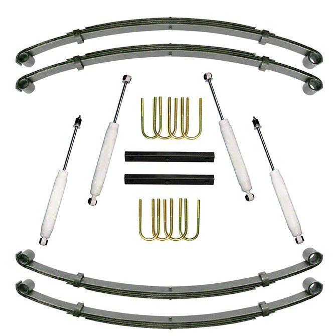 Alloy USA 1.5 in. Suspension Lift Kit (87-95 Wrangler YJ)