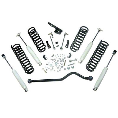 Alloy USA 4 in. Suspension Lift Kit (07-18 Wrangler JK 2 Door)