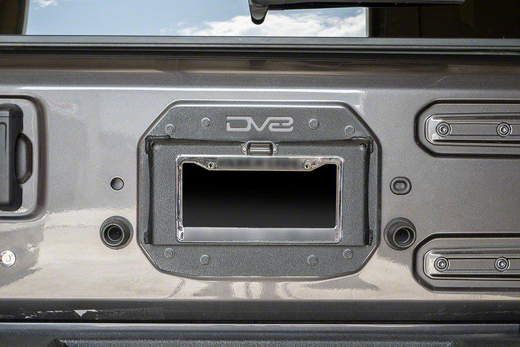 DV8 Off-Road Spare Tire Delete Kit (18-19 Jeep Wrangler JL)
