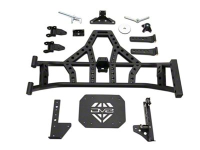 DV8 Off-Road Body Mounted Tire Carrier (18-19 Jeep Wrangler JL)