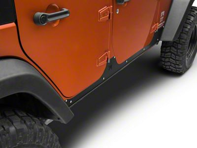 Rock-Slide Engineering Step Slider Rocker Guards (07-18 Wrangler JK 4 Door)