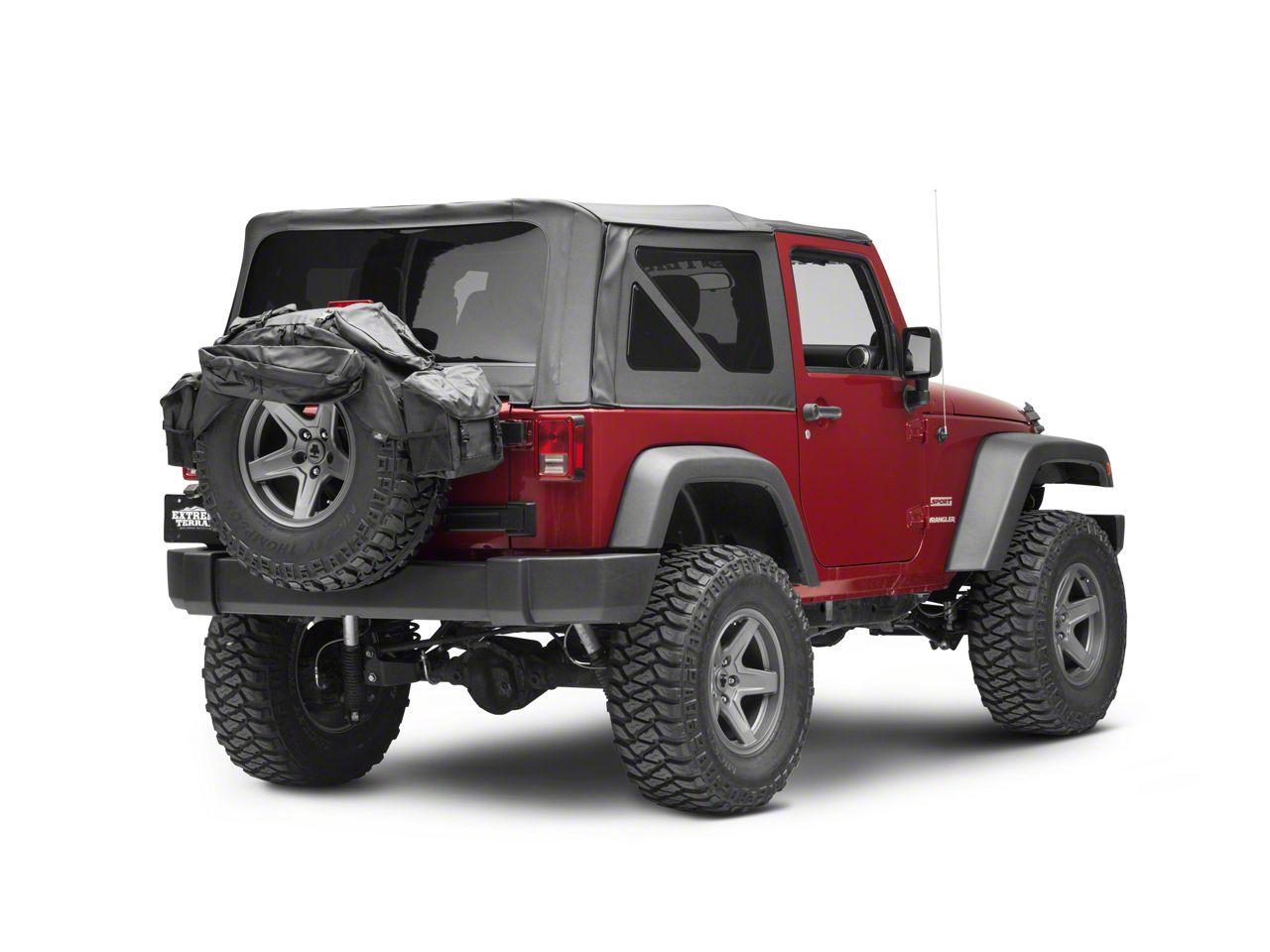 Bestop Spare Tire Organizer (87-19 Jeep Wrangler YJ, TJ, JK & JL)