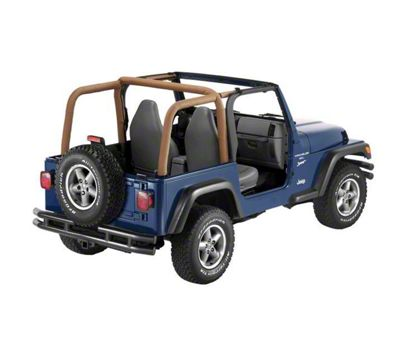 Bestop Sport Bar Covers - Spice (97-02 Jeep Wrangler TJ)