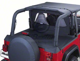 Bestop Sport Bar Covers - Black Diamond (03-06 Jeep Wrangler TJ)