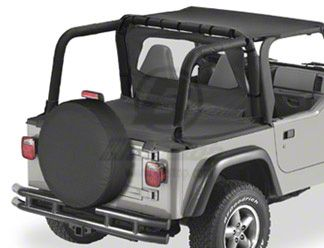 Bestop Duster Deck Cover - Spice (97-02 Jeep Wrangler TJ w/ Hard Top)