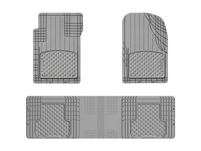 Weathertech AVM Trim-to-Fit 3-Piece Front & Rear Liners - Gray (87-19 Jeep Wrangler YJ, TJ, JK & JL)