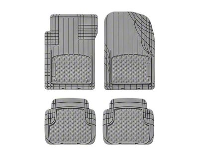 Weathertech AVM Trim-to-Fit 4-Piece Front & Rear Liners - Gray (87-19 Jeep Wrangler YJ, TJ, JK & JL)