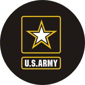 U.S. Army Spare Tire Cover (87-18 Jeep Wrangler YJ, TJ, JK & JL)