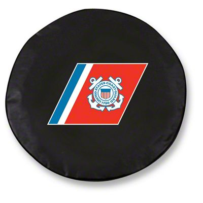 U.S. Coast Guard Spare Tire Cover (87-18 Jeep Wrangler YJ, TJ, JK & JL)