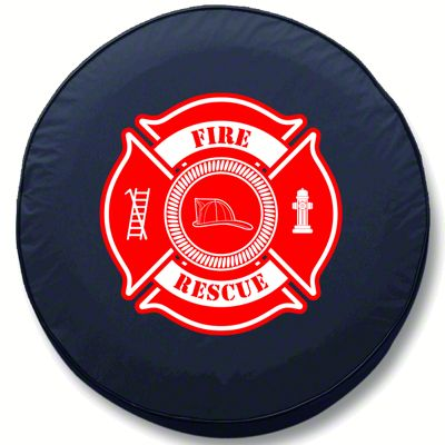 Fire Rescue Spare Tire Cover (87-18 Jeep Wrangler YJ, TJ, JK & JL)