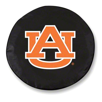 Auburn University Spare Tire Cover - Black (87-18 Jeep Wrangler YJ, TJ, JK & JL)