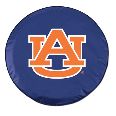 Auburn University Spare Tire Cover - Navy (87-18 Jeep Wrangler YJ, TJ, JK & JL)
