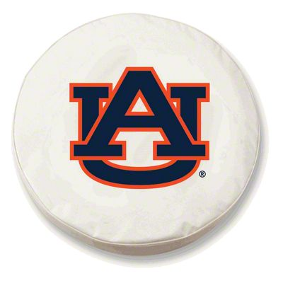 Auburn University Spare Tire Cover - White (87-18 Jeep Wrangler YJ, TJ, JK & JL)