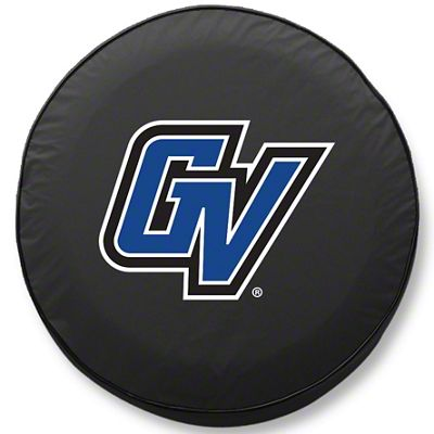 Grand Valley State University Spare Tire Cover - Black (87-18 Jeep Wrangler YJ, TJ, JK & JL)