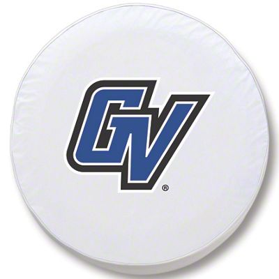 Grand Valley State University Spare Tire Cover - White (87-18 Jeep Wrangler YJ, TJ, JK & JL)