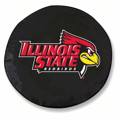 Illinois State University Spare Tire Cover - Black (87-18 Jeep Wrangler YJ, TJ, JK & JL)