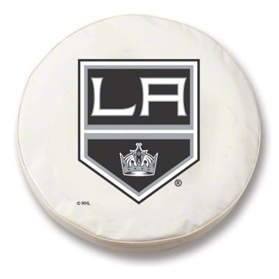 Los Angeles Kings Spare Tire Cover - White (87-18 Jeep Wrangler YJ, TJ, JK & JL)