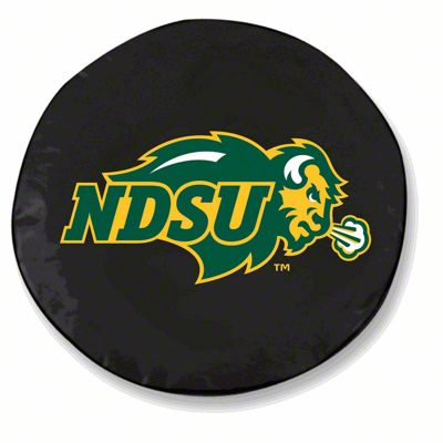 North Dakota State Spare Tire Cover - Black (87-18 Jeep Wrangler YJ, TJ, JK & JL)