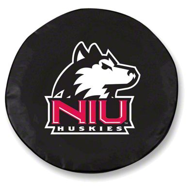 Northern Illinois University Spare Tire Cover - Black (87-18 Jeep Wrangler YJ, TJ, JK & JL)