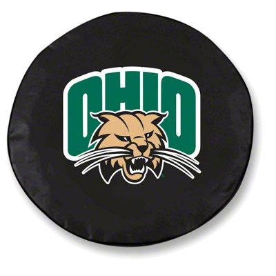 Ohio University Spare Tire Cover - Black (87-18 Jeep Wrangler YJ, TJ, JK & JL)
