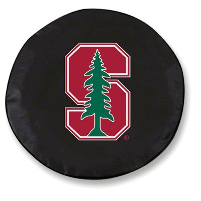 Stanford University Spare Tire Cover - Black (87-18 Jeep Wrangler YJ, TJ, JK & JL)