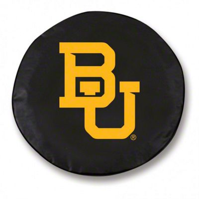 Baylor University Spare Tire Cover - Black (87-18 Jeep Wrangler YJ, TJ, JK & JL)