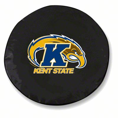 Kent State University Spare Tire Cover - Black (87-18 Jeep Wrangler YJ, TJ, JK & JL)