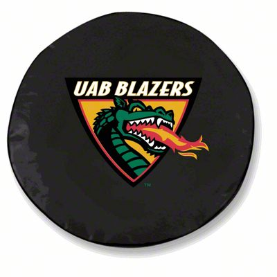 University of Alabama at Birmingham Spare Tire Cover - Black (87-18 Jeep Wrangler YJ, TJ, JK & JL)