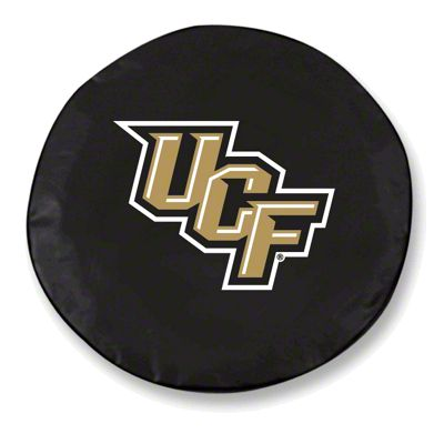 University of Central Florida Spare Tire Cover - Black (87-18 Jeep Wrangler YJ, TJ, JK & JL)